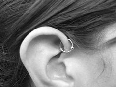 Forward Helix Piercing - It's been a very long while since I got something pierced and I'm thinking this is what I want..