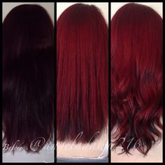 Pravana Red over prelightened hair – ina sali – Hair Red Dark Red Hair, Red Hair Color, Cool Hair Color, Hair Colors, Brown Hair, Red Hair Don't Care, Beautiful Hair Color, Pravana Red, Hair Dos