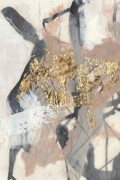 Golden Blush I Wall Art, Canvas Prints, Framed Prints, Wall Peels Deco Pastel, Canvas Wall Art, Canvas Prints, Big Canvas, Deco Marine, Painting Prints, Art Prints, Paintings, Kunst Poster