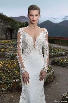 Michal Medina #Bridal Spring 2016 #Couture #Wedding Dresses | Wedding Inspirasi  #weddings #weddinggown #weddingdress