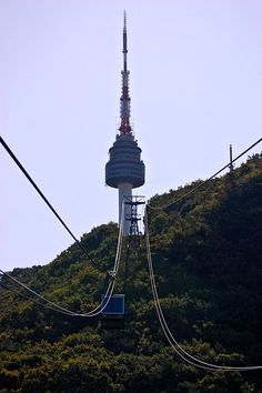 Amazing 62 Beautiful Images of Namsan Seoul Tower, South Korea