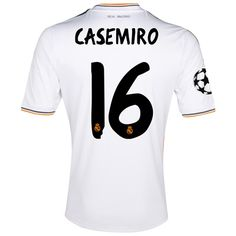 Real Madrid UEFA Champions League Home Shirt 2013 14 with Casemiro 16  Real  Madrid 4514121e6b