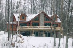 Similar to house plans in CO, walk out basement, replace logs with stucco and use native rocks.