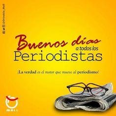 """""""No conozco un mejor oficio en el mundo que el del periodista"""" así lo expresaba Gabriel García Márquez para definir esta valiosa profesión de aquellos servidores que se encargan de mostrar el qué cómo y cuándo de la noticia.  Felicidades periodistas  #27dejunio  #Periodistas #OrinokiaMall #DondeTodoSeUne #Regrann  Fuente: @orinokia_mall"""