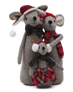 Large Plush Mouse Family Felt Christmas Ornaments, Christmas Crafts, Christmas Decorations, Cute Kids Crafts, Primitive Doll Patterns, Mouse Crafts, Handmade Stuffed Animals, Primitive Gatherings, Felt Mouse