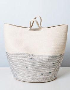Doug Johnston cotton cord bag
