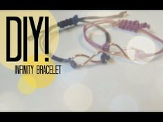DIY| How To Make An infinite Bracelet
