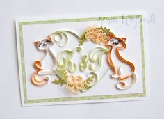 ArtLife: Wedding Card for Kasia & Tomek