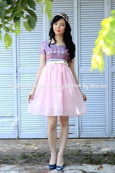 ikat dress   Candrawati Ikat Dress   DhieVine   Redefine You