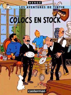 Tintin Comic Book Covers, Comic Books, Album Tintin, Herge Tintin, Lucky Luke, Wire Fox Terrier, People Illustration, Amazing Adventures, Funny Comics