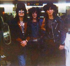 Sammy e Razzle in 83 - Hanoi Rocks