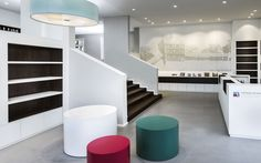 architecture, interior design, Stadtinformation Esslingen by DIA – Dittel Architekten