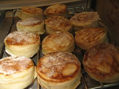 ... Crumpets on Pinterest | Crumpet recipe, English muffins and Tea and