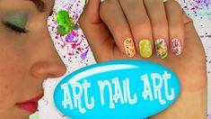 Art Nail Art! Nail Tutorial for 5 Easy Nail Art Designs. No Tools! (+пле... Music used in This Video and more tracks you can Find here: http://stockmusicclouds.com/ or follow twitter https://twitter.com/antarcticbreeze