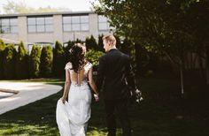 Holland Baker Loft Industrial Wedding © O'Malley King