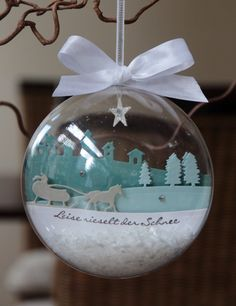 Stampin' up! Christmas decorations
