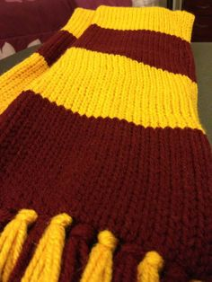 Harry Potter Scarf   by raynascreations on Etsy, $20.00