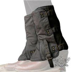 Heathen Tall Canvas Boot Spats