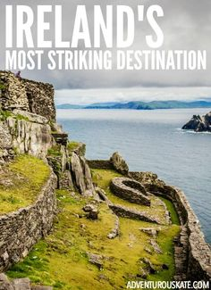 In Ireland, I experienced the single most impressive place I've seen in years: Skellig Michael, a rocky island off the southwest coast of Ireland that was home to monks for several centuries.