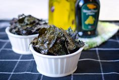 Salt & Vinegar Kale Chips