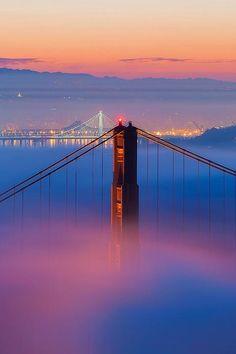 The Bridges in the Fog - Furkl.Com