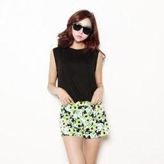 kenzi w  Floral Print Shorts