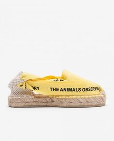 The Animals Observatory, timeless children clothing brand under the creative direction of Laia Aguilar. A new kids fashion vision through art, architecture and paintings. New Kids, Donkey, Boy Or Girl, Kids Outfits, Kids Fashion, Espadrilles, Yellow, Shoes, Collection