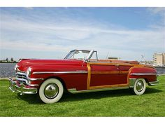 1949 Chrysler Town and Country Convertible Coupe...Re-pin brought to you by #OregonInsuranceagents at #houseofinsurance in #EugeneOregon