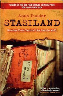 Book Worm's Head: Anna Funder - Stasiland