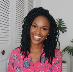 Short cute crochet faux locs to try by Blogger Kiitan A.