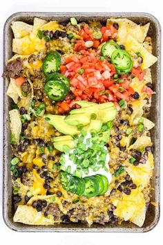 in the Oven Mexican Nachos in the Oven Recipe on Yummly. Nachos in the Oven Recipe on Yummly. Nachos Mexicanos, Appetizer Recipes, Dinner Recipes, Mexican Appetizers, Yummy Appetizers, Yummy Snacks, Yummy Food, Mexican Nachos, Nacho Taco
