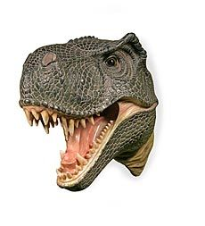 T-Rex Attack Plaque 3-D Wall Art...i thought the boys would love this!