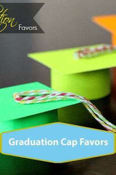 Graduation Cap Favors for pretend play. A kids craft activity using scissors and paper Craft Projects For Kids, Crafts For Girls, Arts And Crafts Projects, Craft Activities For Kids, Graduation Cap Drawing, Pretend Play, Scissors, Favors, Paper Crafts