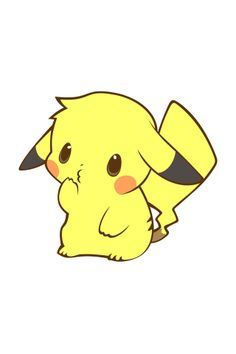 Cute Baby Pikachu Wallpaper On Pinterest