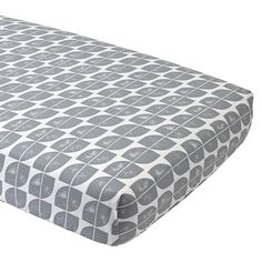 Modern Mix Crib Fitted Sheet and Changing Pad Cover | The Land of Nod