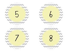 CHEVRON NUMBERS 1-30 - TeachersPayTeachers.com