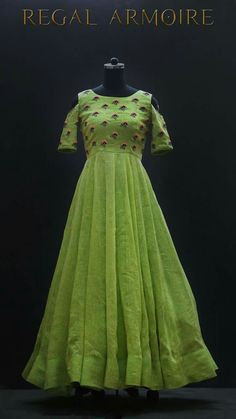 Long Gown Dress, Frock Dress, Anarkali Dress, Lehenga Gown, Frock For Teens, Long Frocks For Kids, Frock Models, Frocks And Gowns, Frock Patterns