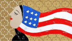 American Muslims will have a say in this election. Happy 4 Of July, Fourth Of July, Happy Birthday America, American Illustration, New Politics, Art Challenge, Ny Times, American Art, North America