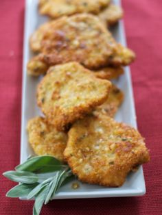 Mustard & Sage Potato Encrusted Pork Cutlets - Carrie's Experimental Kitchen