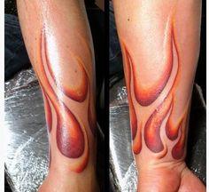 21 Burning Flame Tattoos Design