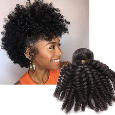 New Brazilian Human Hair Extension Kinky Curly Hair Weft Black in Health & Beauty, Hair Care & Styling, Hair Extensions & Wigs, Hair Extensions Pomade For Curly Hair, Hair Pomade, Kinky Curly Hair, Curly Hair Styles, Natural Hair Styles, Loose Hairstyles, Protective Hairstyles, Pretty Hairstyles, Hair Websites