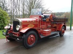 1929 Seagrave Fire Tender.....