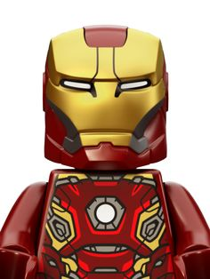 Know a Marvel-mad LEGO® fan? Discover Marvel Super Heroes themed LEGO sets, and let little ones role-play their favourite scenes. Legos, Minifigura Lego, All Lego, Lego Iron Man, Gold Armor, War Comics, Ironman, Superhero Characters, Lego Batman Movie