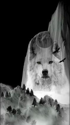 Hair Wrap Ambesonne Tribal Head Scarf Native America Wolf Head