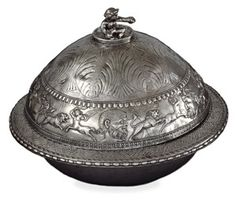 Covered Dish - The Mildenhall Treasure, buried sometime in the 4th Century.