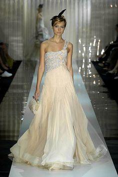 Armani Privé Fall 2006 Couture Fashion Show - Anna Ry (FASHION)