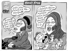 Mice Cartoon, Kompas 23.03.2014: Hands Free