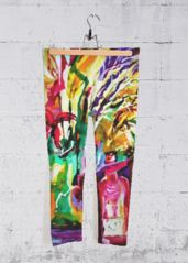 ABSTRACT EMPTY BOTTLE: Yoga Capri Pants What a beautiful product!