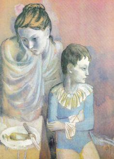 Pablo Picasso - Mère et enfant (Baladins) (1905) - Google Search