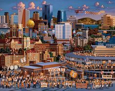 Tennessee Football by Eric Dowdle - Knoxville, Tennessee, University of Tennessee Vols